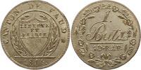 Batzen 1815 Schweiz-Waadt, Kanton  Vorzüglich - Stempelglanz  55,00 EUR  zzgl. 4,00 EUR Versand