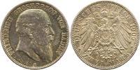 2 Mark 1905  G Baden Friedrich I. 1856-1907. Dunkle Patina. Fast Stempe... 165,00 EUR  zzgl. 4,00 EUR Versand