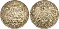 2 Mark 1904  J Bremen  Schöne Patina. Fast Stempelglanz  135,00 EUR  zzgl. 4,00 EUR Versand