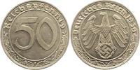 50 Reichspfennig 1939  F Drittes Reich  Prachtexemplar. Fast Stempelglanz  85,00 EUR  zzgl. 4,00 EUR Versand