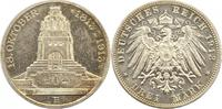 3 Mark 1913 Sachsen Friedrich August III. 1904-1918. Polierte Platte. V... 98,00 EUR  zzgl. 4,00 EUR Versand