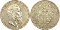 5 Mark 1888  A Preußen Friedrich III. 1888. Vorzüglich - Stempelglanz  215,00 EUR  zzgl. 4,00 EUR Versand