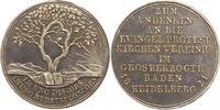Silbermedaille 1821 Baden-Durlach Ludwig 1818-1830. Vorzüglich - Stempe... 95,00 EUR  zzgl. 4,00 EUR Versand