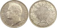Gulden 1853 Württemberg Wilhelm I. 1816-1864. Fast Stempelglanz  175,00 EUR  zzgl. 4,00 EUR Versand