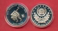 5000 Won 1988 Korea Ringen, Olympiade 1988 Seoul Polierte Platte Proof PP  9,00 EUR  zzgl. 5,00 EUR Versand