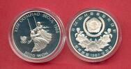 5000 Won 1987 Korea Schaukeln, Olympiade 1988 Seoul Polierte Platte Pro... 8,50 EUR  zzgl. 5,00 EUR Versand