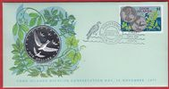 5 Dollars 1977 Cook Islands Atiu - Segler - Numisbrief, Tierwelt, WWF, ... 29,00 EUR  zzgl. 5,00 EUR Versand