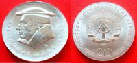 20 Mark 1989 DDR Thomas Müntzer Stempelglanz  63,00 EUR  zzgl. 5,00 EUR Versand