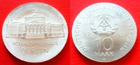10 Mark 1987 DDR Schauspielhaus Berlin Stempelglanz  38,00 EUR  zzgl. 5,00 EUR Versand