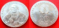20 Mark 1983 DDR Martin Luther Stempelglanz  265,00 EUR  zzgl. 5,00 EUR Versand