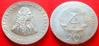 20 Mark 1966 DDR Gottfried Wilhelm Leibniz Stempelglanz  83,00 EUR  zzgl. 5,00 EUR Versand