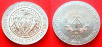 20 Mark 1987 DDR Stadtsiegel Berlin Stempelglanz  239,00 EUR  zzgl. 5,00 EUR Versand