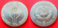 5 Mark 1970 DDR Wilhelm Conrad Röntgen Stempelglanz  9,00 EUR  zzgl. 5,00 EUR Versand