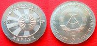 5 Mark 1971 DDR Johannes Kepler Stempelglanz  10,00 EUR  zzgl. 5,00 EUR Versand