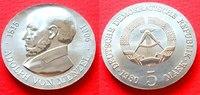 5 Mark 1980 DDR Adolf von Menzel Stempelglanz  21,00 EUR  zzgl. 5,00 EUR Versand