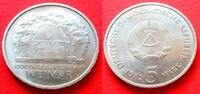 5 Mark 1982 DDR Goethes Gartenhaus in Weimar Stempelglanz  9,00 EUR  zzgl. 5,00 EUR Versand