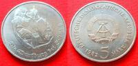 5 Mark 1982 DDR Die Wartburg bei Eisenach 82 Stempelglanz  9,00 EUR  zzgl. 5,00 EUR Versand