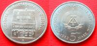 5 Mark 1983 DDR Luthers Geburtshaus Stempelglanz  9,00 EUR  zzgl. 5,00 EUR Versand