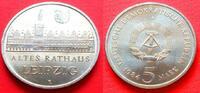 5 Mark 1984 DDR Altes Rathaus Leipzig Stempelglanz  9,00 EUR  zzgl. 5,00 EUR Versand
