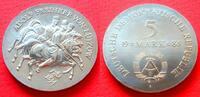 5 Mark 1984 DDR Adolf Freiherr von Lützow Stempelglanz  40,00 EUR