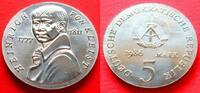 5 Mark 1986 DDR Heinrich von Kleist Stempelglanz  75,00 EUR  zzgl. 5,00 EUR Versand
