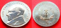 5 Mark 1989 DDR Carl von Ossietzky Stempelglanz  49,00 EUR