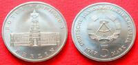 5 Mark 1987 DDR Rotes Rathaus Stempelglanz  4,00 EUR  zzgl. 5,00 EUR Versand