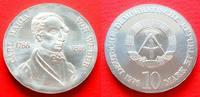 10 Mark 1976 DDR C. M. von Weber Stempelglanz  40,00 EUR  zzgl. 5,00 EUR Versand