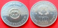 10 Mark 1981 DDR 700 J. Münze Berlin Stempelglanz  24,00 EUR  zzgl. 5,00 EUR Versand
