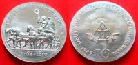 10 Mark 1989 DDR Quadriga von J. G. Schadow Stempelglanz  82,00 EUR  zzgl. 5,00 EUR Versand