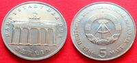 5 Mark 1984 DDR Brandenburger Tor 1984 Stempelglanz  42,00 EUR  zzgl. 5,00 EUR Versand