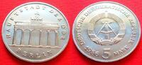 5 Mark 1986 DDR Brandenburger Tor 1986 Stempelglanz  65,00 EUR  zzgl. 5,00 EUR Versand