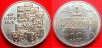 10 Mark 1989 DDR 40 Jahre DDR Stempelglanz  5,00 EUR  zzgl. 5,00 EUR Versand
