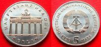 5 Mark 1990 DDR Brandenburger Tor 1990 Stempelglanz  23,00 EUR  zzgl. 5,00 EUR Versand