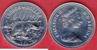 1 Dollar 1980 Kanada Eisbär, Tierwelt Stempelglanz fein, Prooflike  9,00 EUR  zzgl. 5,00 EUR Versand