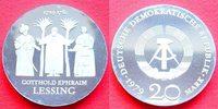 20 Mark 1979 DDR Gotthold Ephraim Lessing Silber in Kapsel Polierte Pla... 75,00 EUR  zzgl. 5,00 EUR Versand
