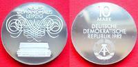 10 Mark 1982 DDR Gewandhaus Leipzig Silber Polierte Platte offen, Proof... 37,00 EUR  zzgl. 5,00 EUR Versand
