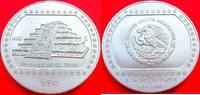 10 Nuevos Pesos 1993 Mexiko Veracruz, Pyramid in El Tajin, 5 ounces of ... 119,00 EUR