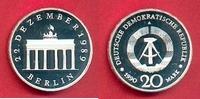 20 Mark 1990 DDR Brandenburger Tor 1990 Silber Polierte Platte offen, P... 80,00 EUR  zzgl. 5,00 EUR Versand