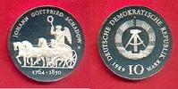 10 Mark 1989 DDR Quadriga von J. G. Schado...