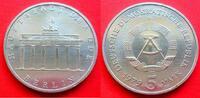 5 Mark 1979 DDR Brandenburger Tor 1979 Stempelglanz  23,00 EUR  zzgl. 5,00 EUR Versand