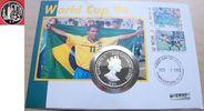 10 Dollar 1994 Ostkaribik Fußball WM USA 1994, Ball vor Skyline, Numisb... 18,00 EUR  zzgl. 5,00 EUR Versand