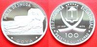 100 Pesetas 1970 Aequatorialguinea F. Goya, 'Die nackte Maja', ovale '1... 39,00 EUR  zzgl. 5,00 EUR Versand