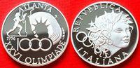 1000 Lira 1996 Italien Fackelläufer, Stadtion, Olympiade 1996 Atlanta P... 20,00 EUR  zzgl. 5,00 EUR Versand