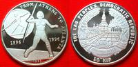 50 Kip 1996 Laos Speerwurf, Olympiade 1996 Atlanta Polierte Platte Proo... 20,00 EUR  zzgl. 5,00 EUR Versand