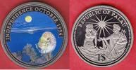 1 Dollar 1994 Palau Nautilus und Koralle, Meeresfauna, Marine - Life Pr... 7,50 EUR  zzgl. 5,00 EUR Versand