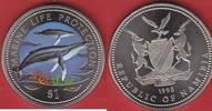1 Dollar 1998 Namibia Buckelwal, Seepferdchen, Meeresfauna, Marine - Li... 17,50 EUR  zzgl. 5,00 EUR Versand