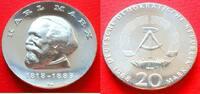 20 Mark 1968 DDR Karl Marx Stempelglanz  47,00 EUR  zzgl. 5,00 EUR Versand