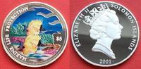 5 Dollars 2001 Salomon Inseln Schmetterlingsfische, Meeresfauna, Marine... 30,00 EUR  zzgl. 5,00 EUR Versand