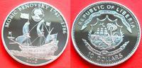 10 Dollar 2005 Liberia Moric Benovsky, Seefahrt Polierte Platte Proof PP  25,00 EUR  zzgl. 5,00 EUR Versand